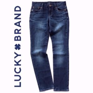 Lucky Brand Sweet Jean Straight Jeans A008